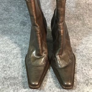 ANTONIO MELANI Shoes - Antonio Melani leather mid calf western boots
